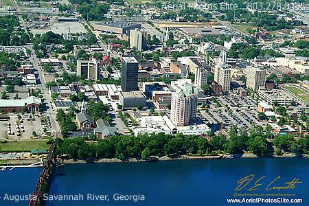 Augusta, GA on the Savannah River